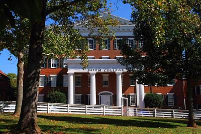 Photograph - Salem College by Kathryn Meyer
