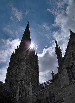 Photograph - Salisbury Sunburst by Bernadette Wulf