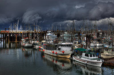 Photograph - Salish Storm by Randy Hall