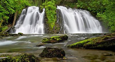 Photograph - Salmon Creek Falls - Juneau by Paul Riedinger