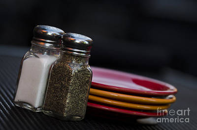 Photograph - Salt And Pepper by Andrea Silies
