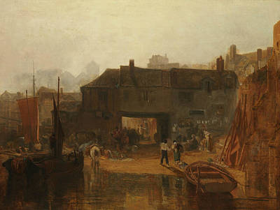Saltash With The Water Ferry, Cornwall Art Print by Joseph Mallord William Turner
