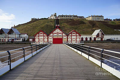 Saltburn On Sea Art Print
