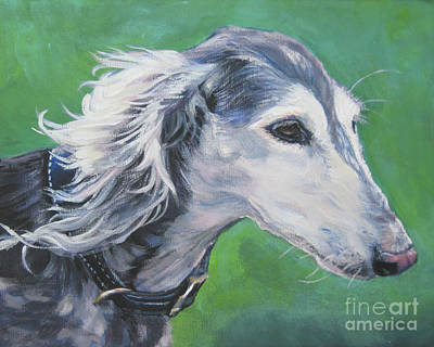 Painting - Saluki by Lee Ann Shepard