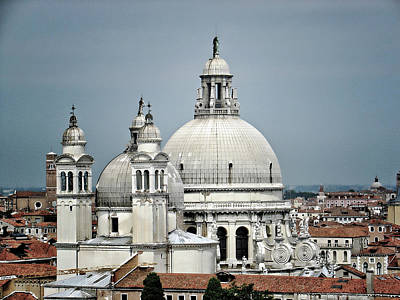 Domes Of Venice Photograph - Salute by Julie Palencia
