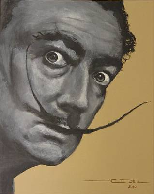 Salvador Dali Print by Eric Dee
