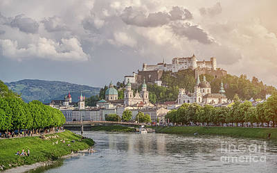 Photograph - Salzburg Sunset by JR Photography