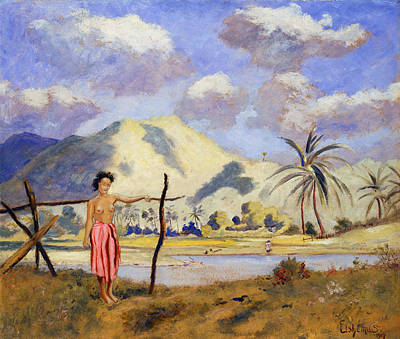 Painting - Samoa by Louis Michel Eilshemius
