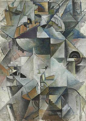 Geometry Painting - Samovar by Kazimir Malevich