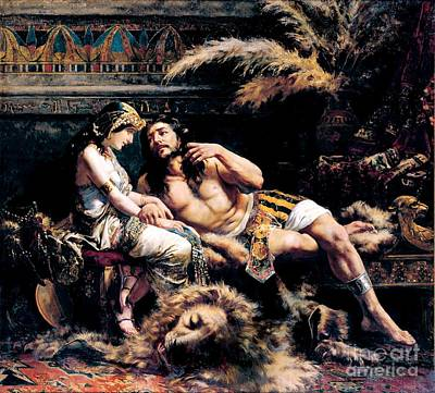 Painting - Samson And Delilah by Pg Reproductions