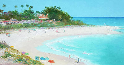 Painting - San Clemente Beach California by Jan Matson
