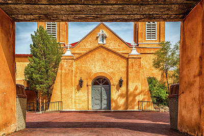 Photograph - San Felipe De Neri Church by Gestalt Imagery
