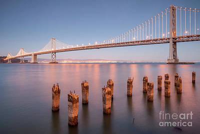 Photograph - San Francisco Bay Bridge by Colin and Linda McKie