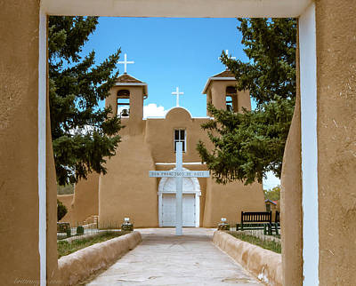 Photograph - San Francisco De Asis by Britt Runyon