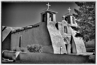 San Francisco De Asis Mission Church Art Print by David Patterson