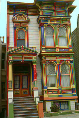 Photograph - San Francisco Haight Ashbury - Photo Art by Art America Gallery Peter Potter