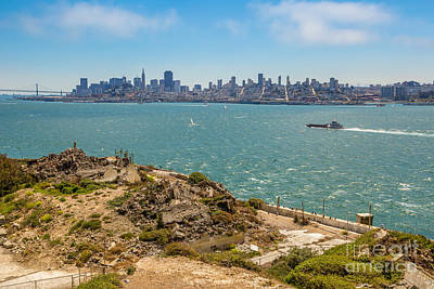 Photograph - San Francisco Skyline By Sea by Benny Marty