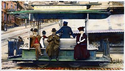 Photograph - San Francisco: Streetcar by Granger