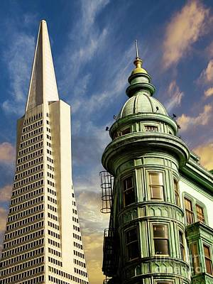 Photograph - San Francisco Then And Now by Sal Ahmed