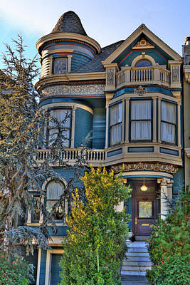 San Francisco Victorian Art Print by Paul Owen