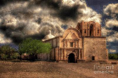 Photograph - San Jose De Tumacacori by Lois Bryan