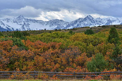 Photograph - San Juan Mountains From Dallas Divide by Ray Mathis