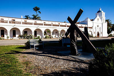 Photograph - San Luis Rey Mission by Ben Graham