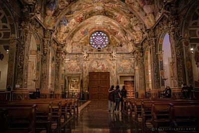 Photograph - San Nicolas Church Valencia by Henri Irizarri