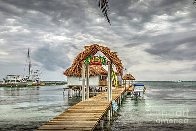 Photograph - San Pedro Belize C.a. 17 by David Zanzinger