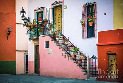 San Roque Stairs Art Print