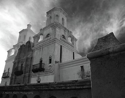 San Xavier Mission Print by Jim Harris