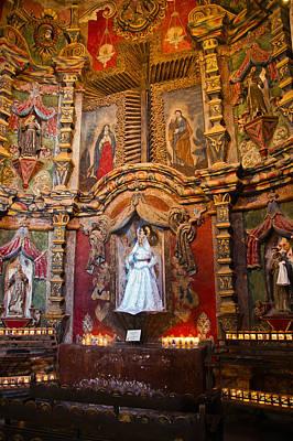 San Xavier Side Altar Art Print