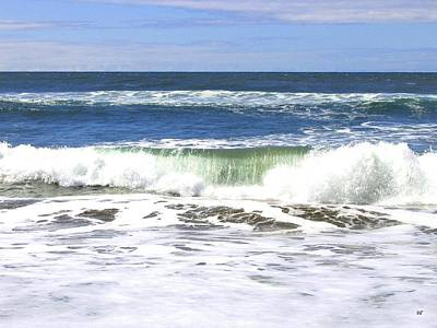 Photograph - Sand And Sea 1 by Will Borden