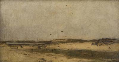 Sand Dunes Painting - Sand Dunes In Holland by MotionAge Designs