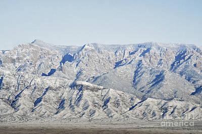 Photograph - Sandia Mountains Rustic Desert Landscape by Andrea Hazel Ihlefeld