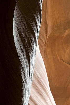 Photograph - Sandstone Abstract by Mike Irwin