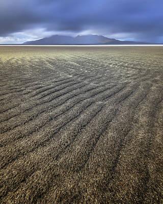 Claude Monet - Sandy Beach, Isle of Eigg, Scotland, United Kingdom by Andrey Omelyanchuk