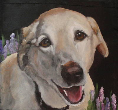 Painting - Sandy by Carol Russell