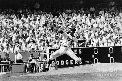 Dodgers Photograph - Sandy Koufax (1935- ) by Granger
