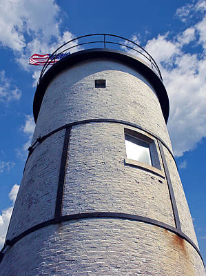 Sandy Neck Lighthouse Art Print by Charles Harden