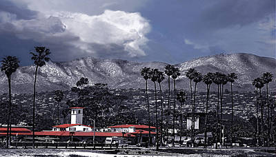 Photograph - Santa Barbara Panorama by Danuta Bennett