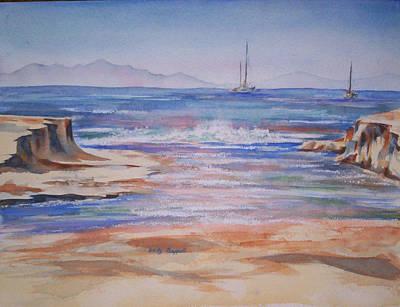Santa Cruz Art Print