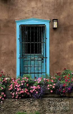 Santa Fe Door #1 Art Print