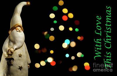 Photograph - Santa Fun - Christmas Greetings Card by Wendy Wilton