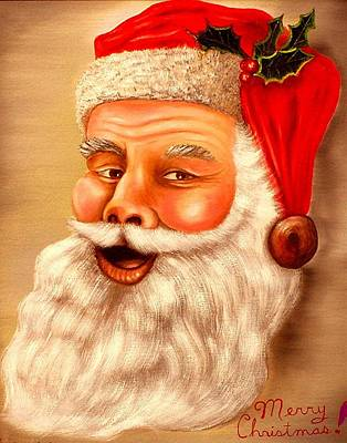 Painting - Santa by Gene Gregory