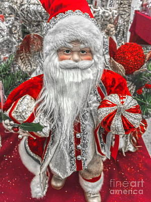 Photograph - Santa by Jenny Revitz Soper