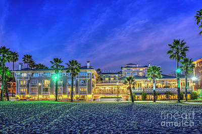 Photograph - Santa Monica by David Zanzinger