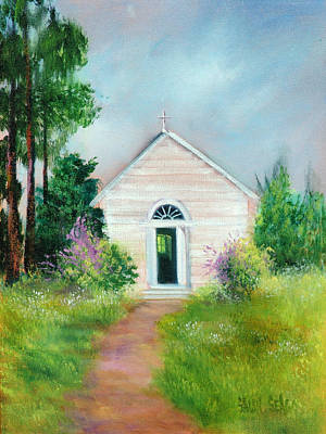 Santa Rosa Chapel Art Print by Sally Seago