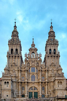Photograph - Santiago De Compostela Cathedral by Fabrizio Troiani