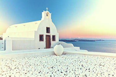 Photograph - Santorini by Gualtiero Boffi